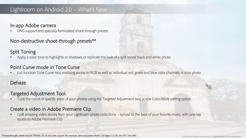Adobe Lightroom Mobile V2 0 Free For Android   ePHOTOzine