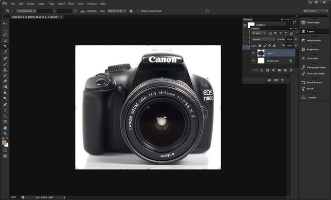 Adobe Photoshop CS6 Main Screen