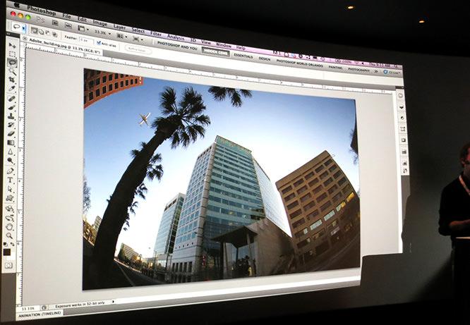 Adobe Photoshop Fish-Eye Correction
