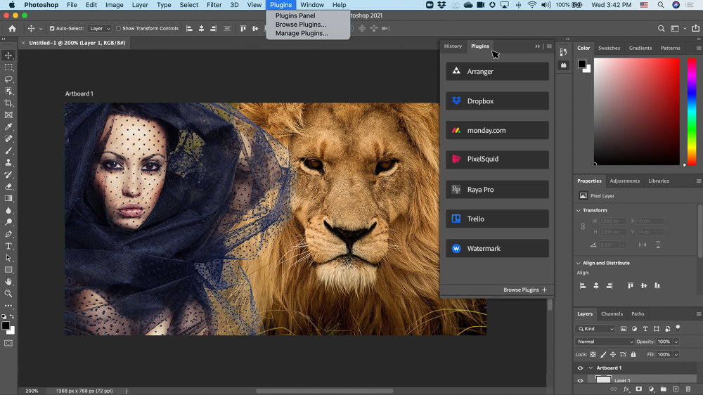 Photoshop New Photoshop Plug In Experience 2 |