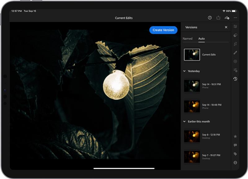 Lightroom MAX Release Auto Versions  