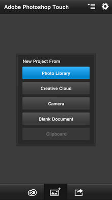 Adobe Photoshop Touch For iPhone Screenshot 3