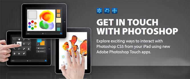 Adobe Photoshop Touch iPad Apps