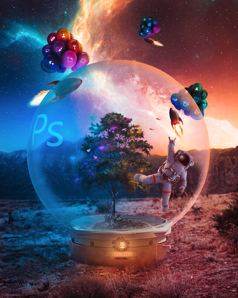 Adobe Photoshop 30th birthday