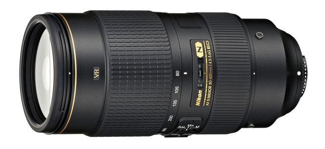 AF-S NIKKOR 80-400mm f/4.5-5.6G ED VR telephoto zoom lens