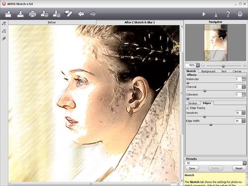 AKVIS Sketch Version 11 Screenshot