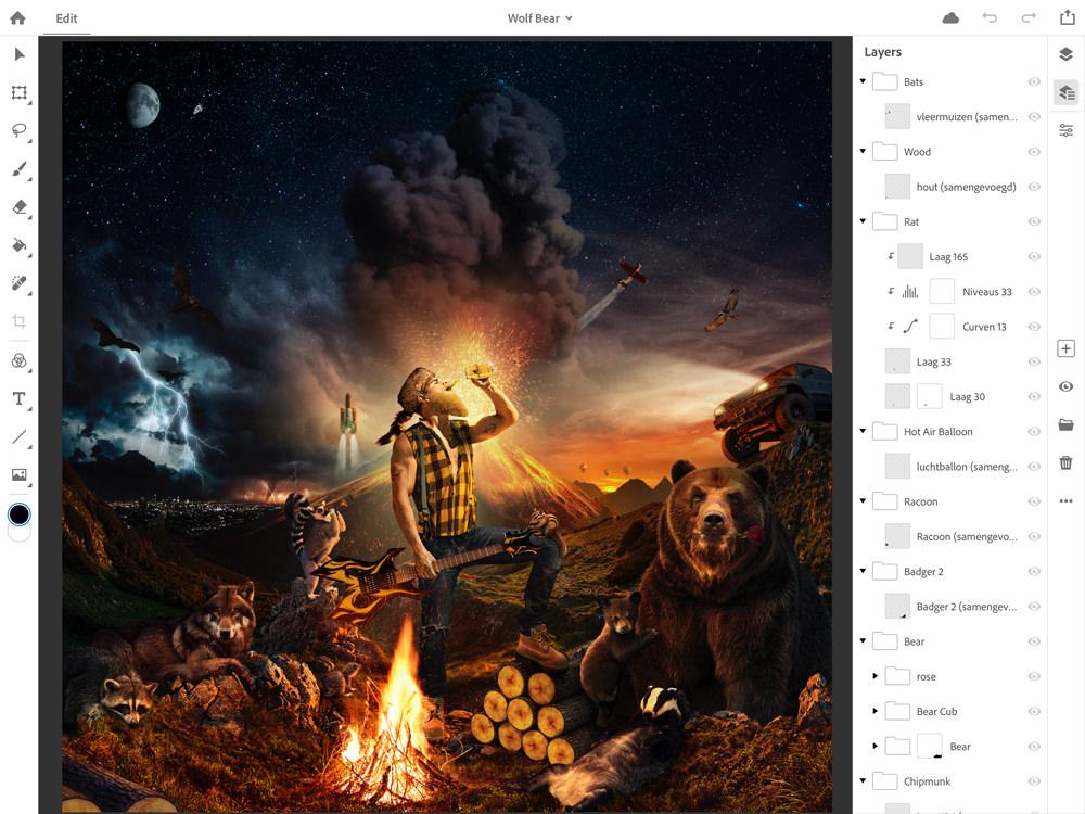 Photoshop CC on iPad