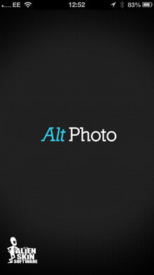 Alt Photo iOS App