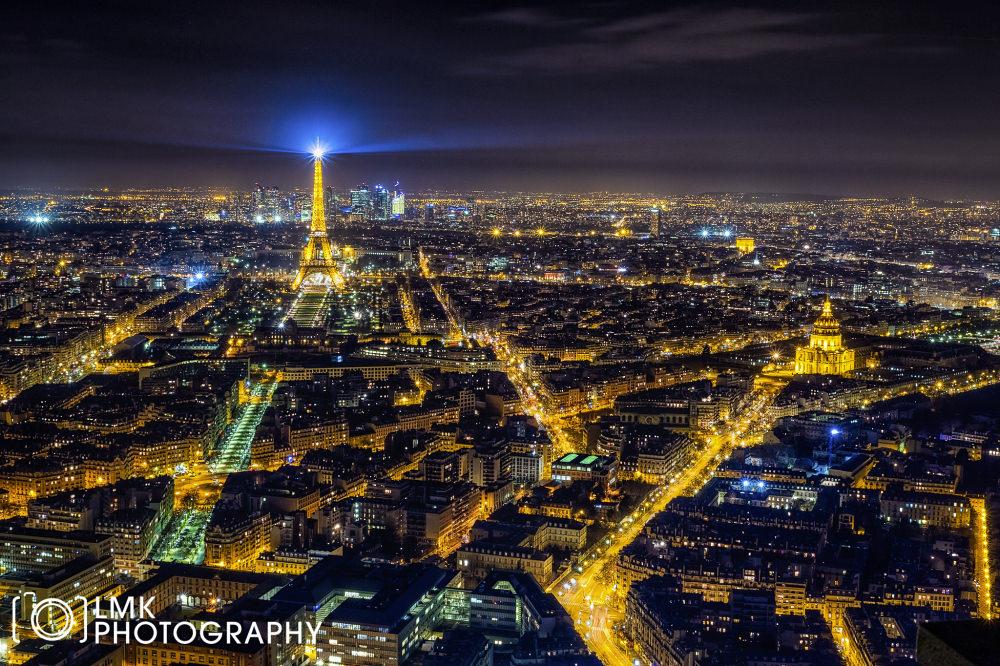 Paris Nightscape 2015