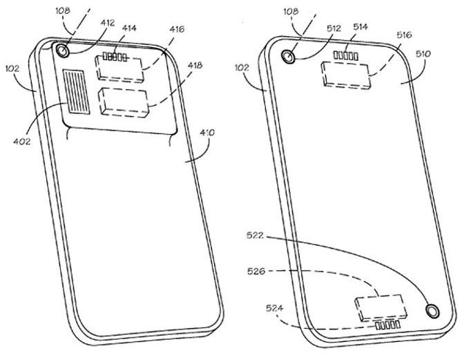 iphone lenses patent
