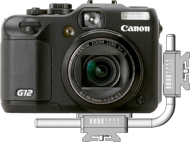 ARCA-SWISS Mini L-Bracket For Compact Cameras