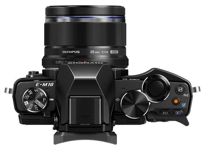 OM D E M10 ES M2518 Black  ProductTop 001