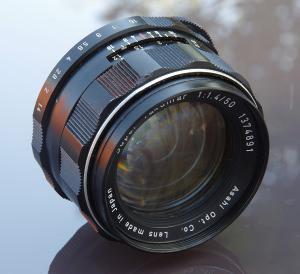 Asahi Super Takumar 50mm f/1.4 Review