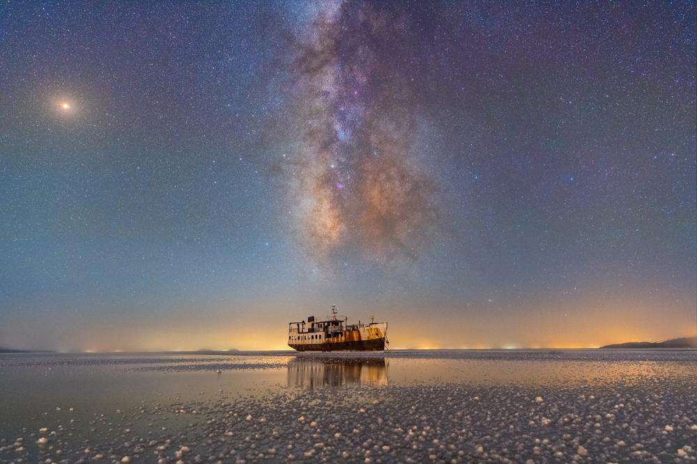 Masoud Ghadiri - 'Sharafkhane Port and Lake Urmia'