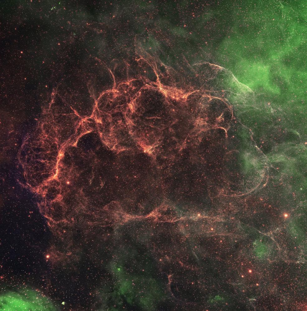 Vela Supernova Remnant HaOIIIRGB |