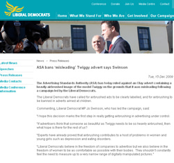 Lib Dem airbrushing article