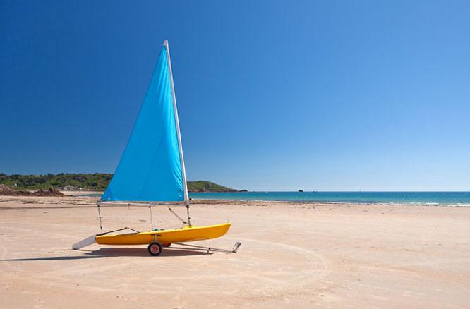 Boat on a beach