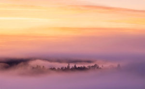 Beautiful Misty Landscape Awarded POTW Accolade