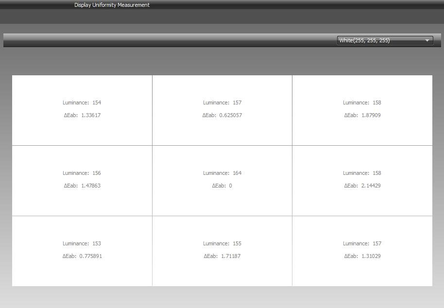 I1 Display Pro 013 White Point