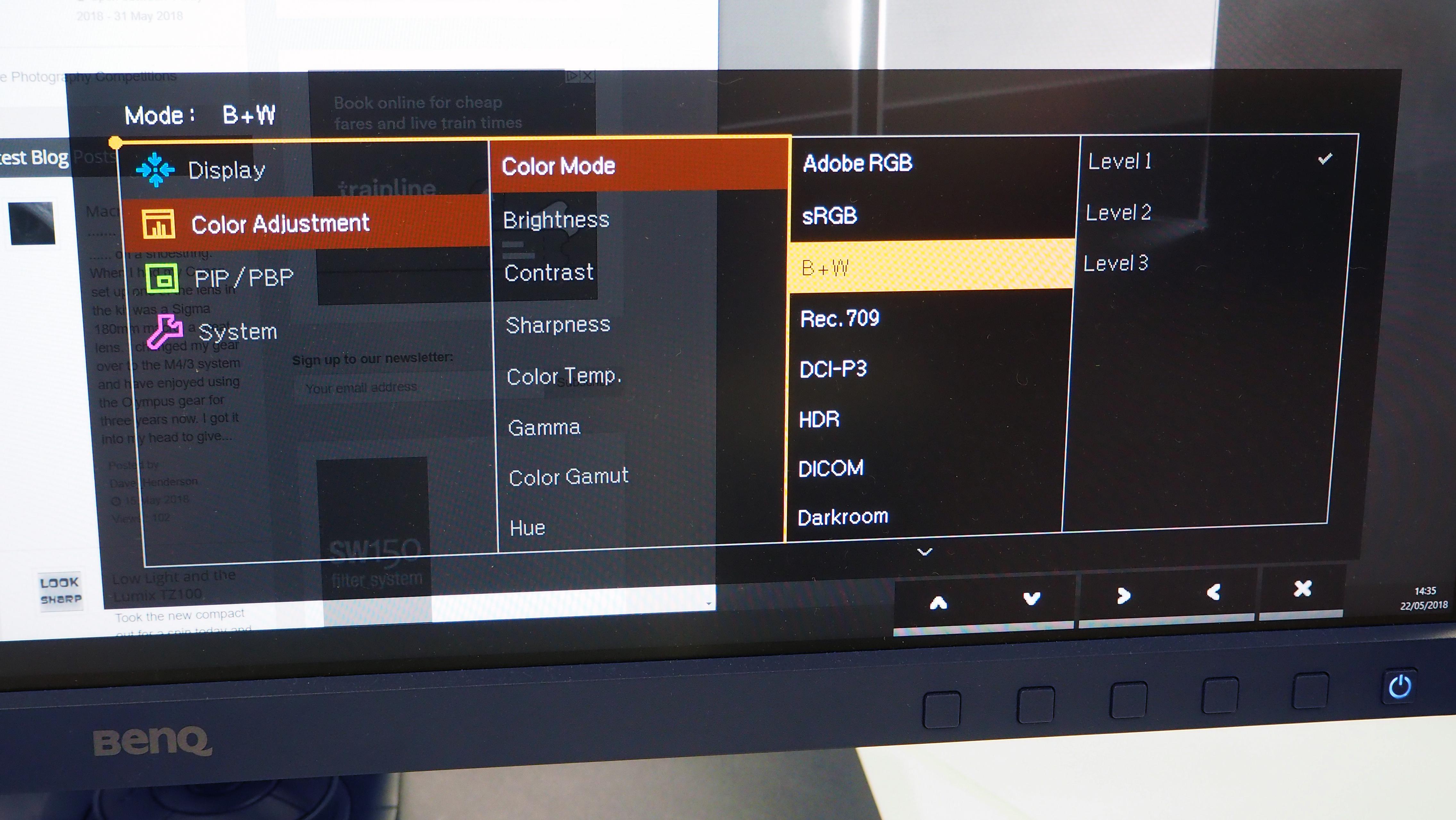 BenQ SW271 4K Monitor Review | ePHOTOzine