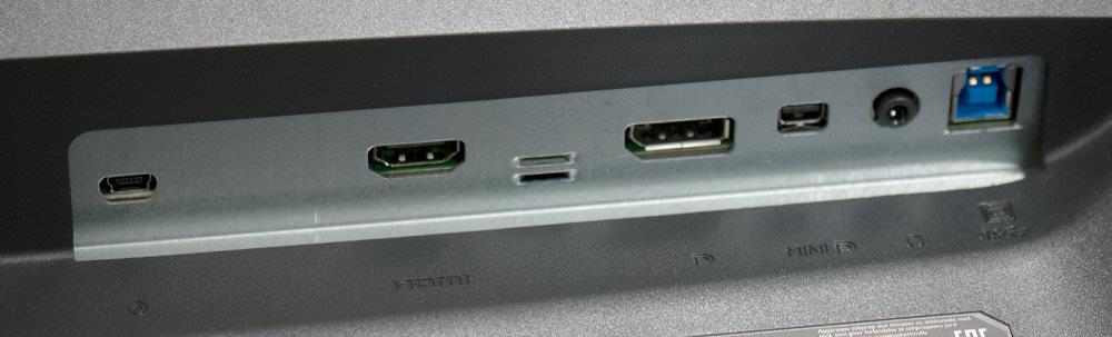 BenQ SW320 Ports
