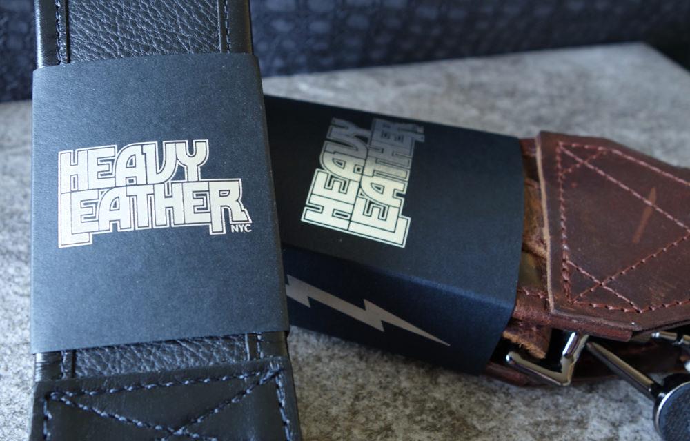 Heavy Leather straps