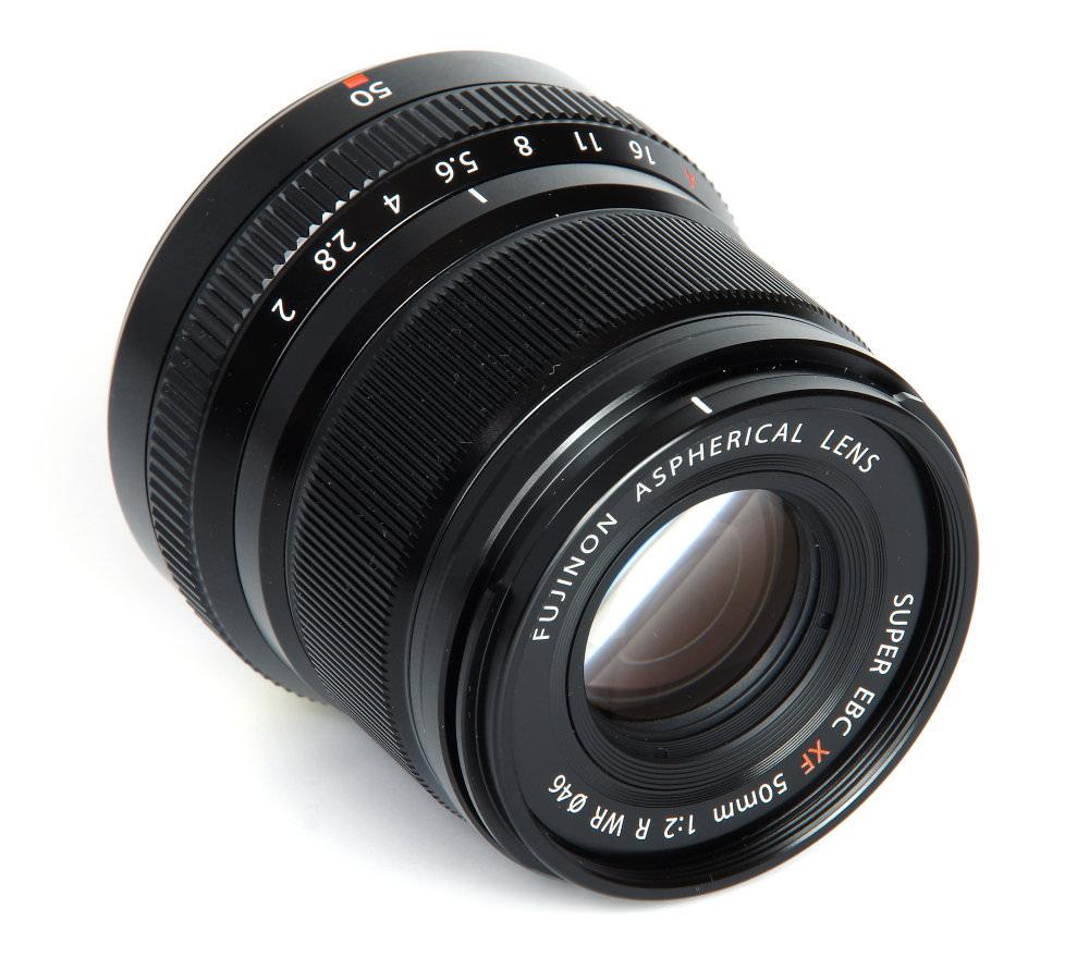 Fujinon Xf 50mm F2 Front Oblique View