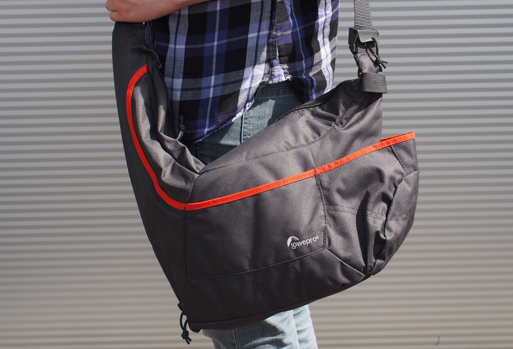 Lowepro Passport Sling III Worn