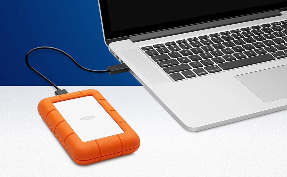 LaCie Rugged Mini USB Drive