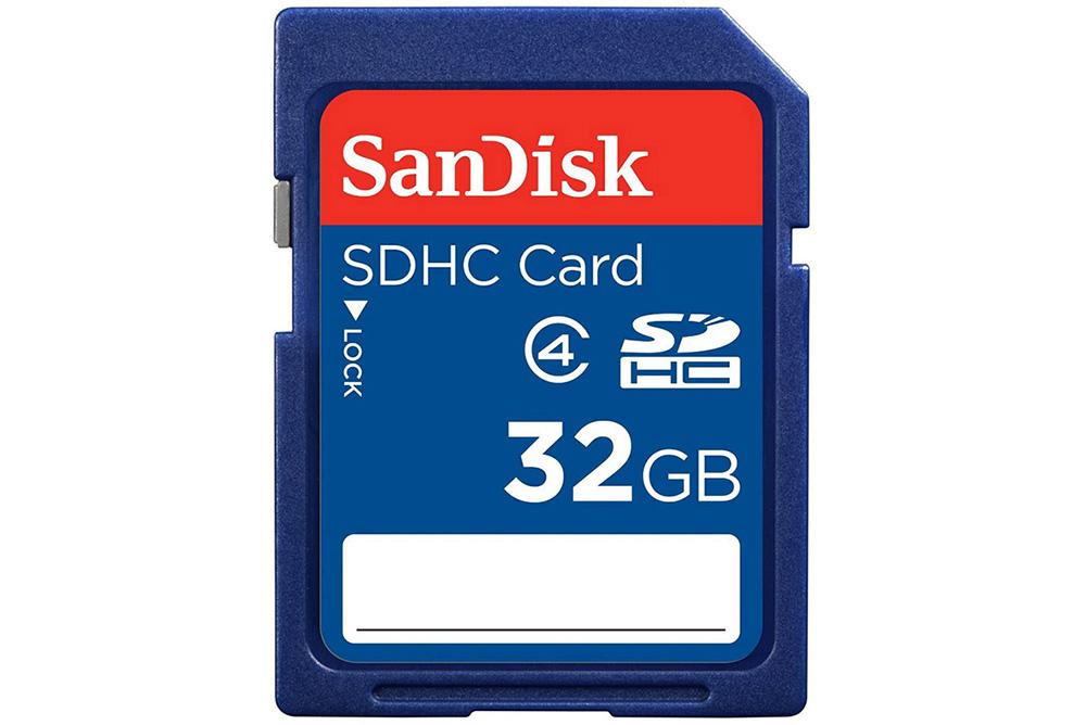 Sandisk 32GB SD Class 4