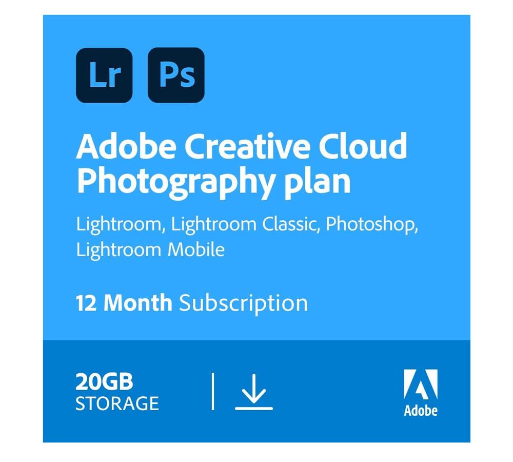 Adobe Creative Cloud Photography Subscription