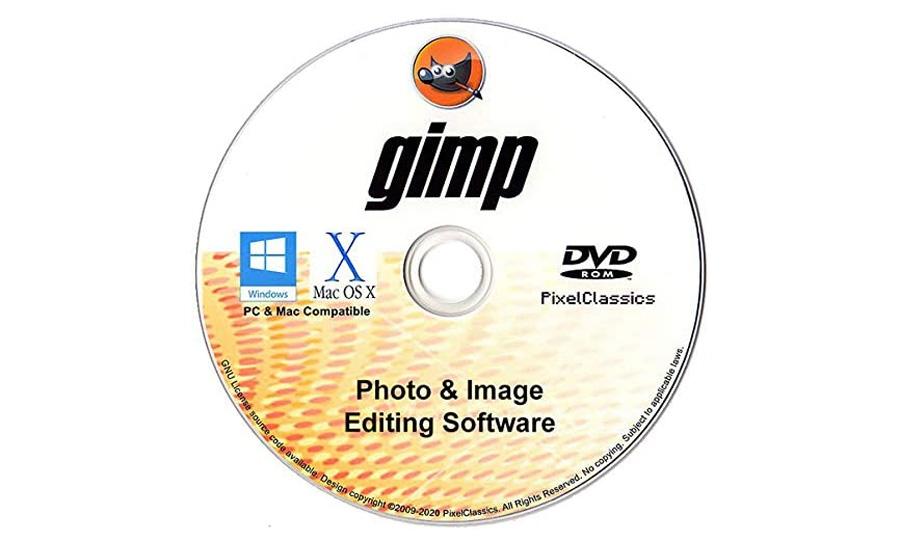 GIMP on DVD