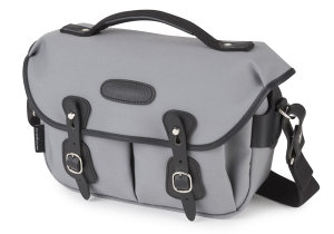 Billingham Introduced On-Trend Grey Canvas/Black Leather Hadley Small Pro Camera Bag