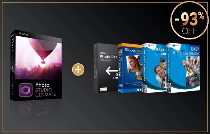 Get 93% Off InPixio Photo Studio Ultimate + FREE Gifts!