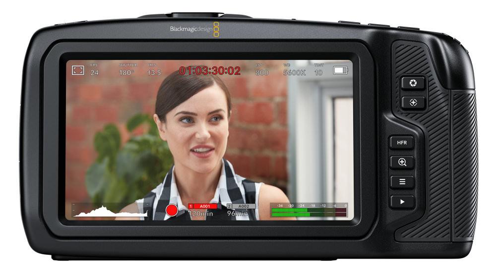 Blackmagic Pocket Cinema Camera 4K Back
