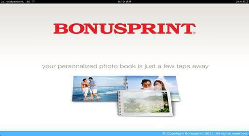Bonusprint iPad App