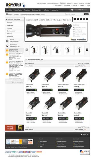 Bowen USA website