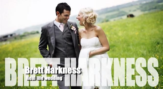 Brett Harkness Real Life Wedding DVD