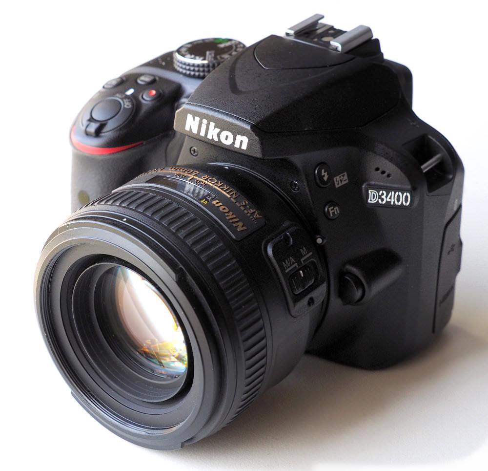 Nikon D3400 DSLR (2)