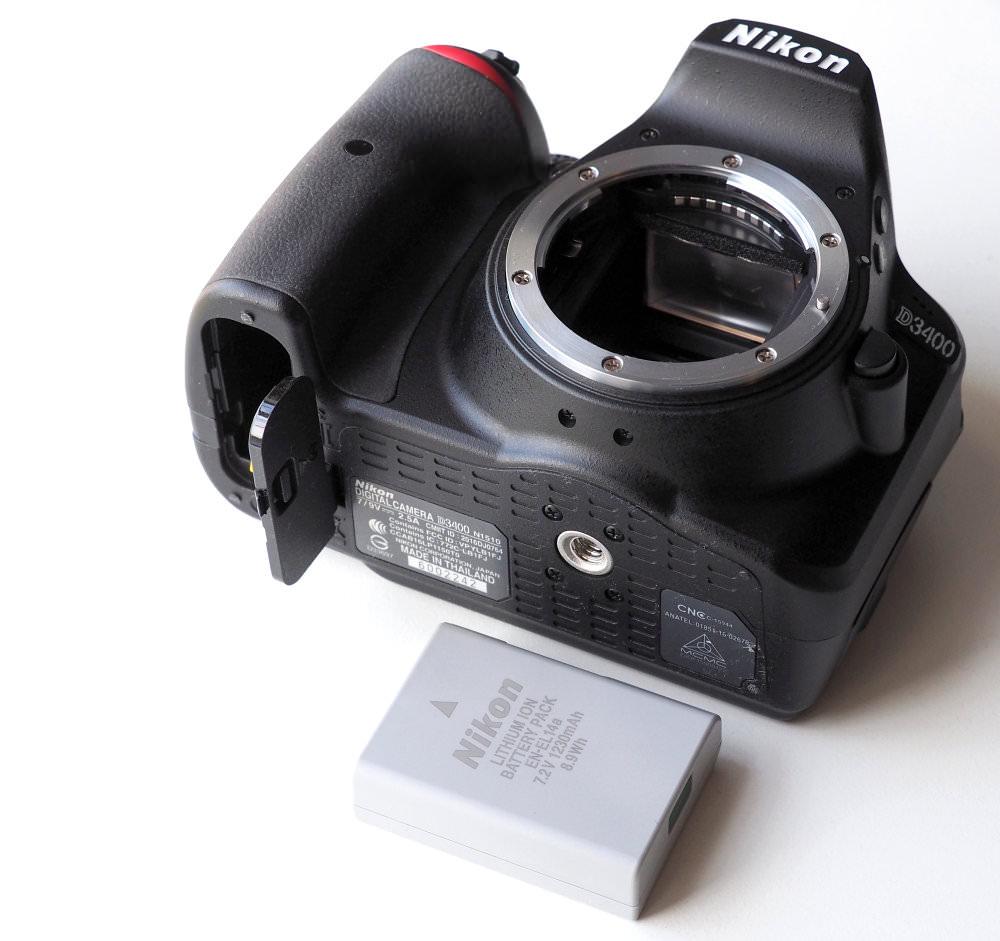 Nikon D3400 DSLR (8)