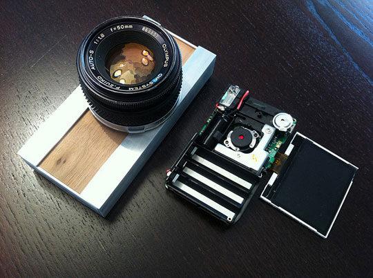 Olympus Lens on a Camera Body