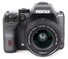 Pentax K S2 White Background