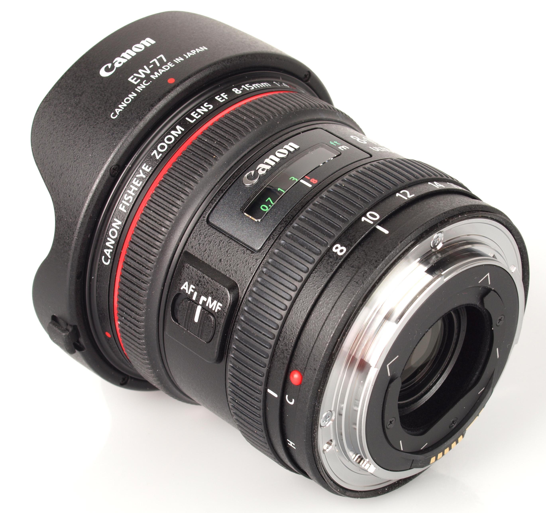 Canon 8 15mm f 4l fisheye zoom lens review for Fish eye lense