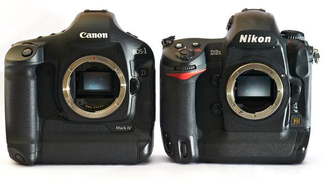 Canon vs Nikon Side by Side Comparison