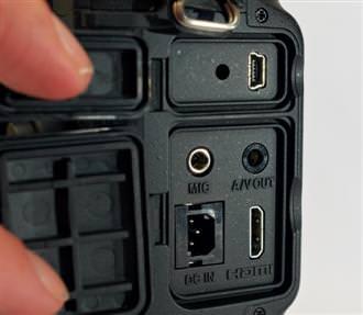 Nikon D3s Ports