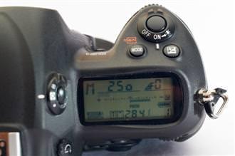 Nikon D3s LCD