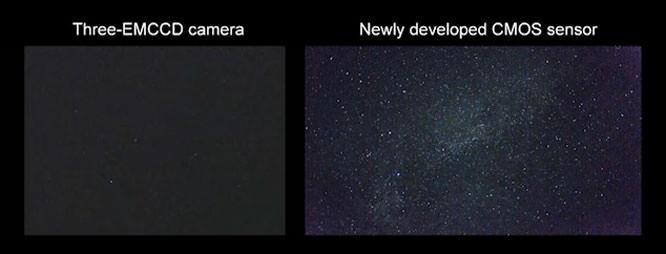 CMOS sensor stars