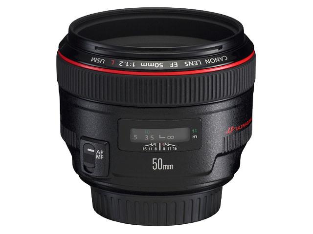 Canon EF 50mm f 1 2 L USM Lens