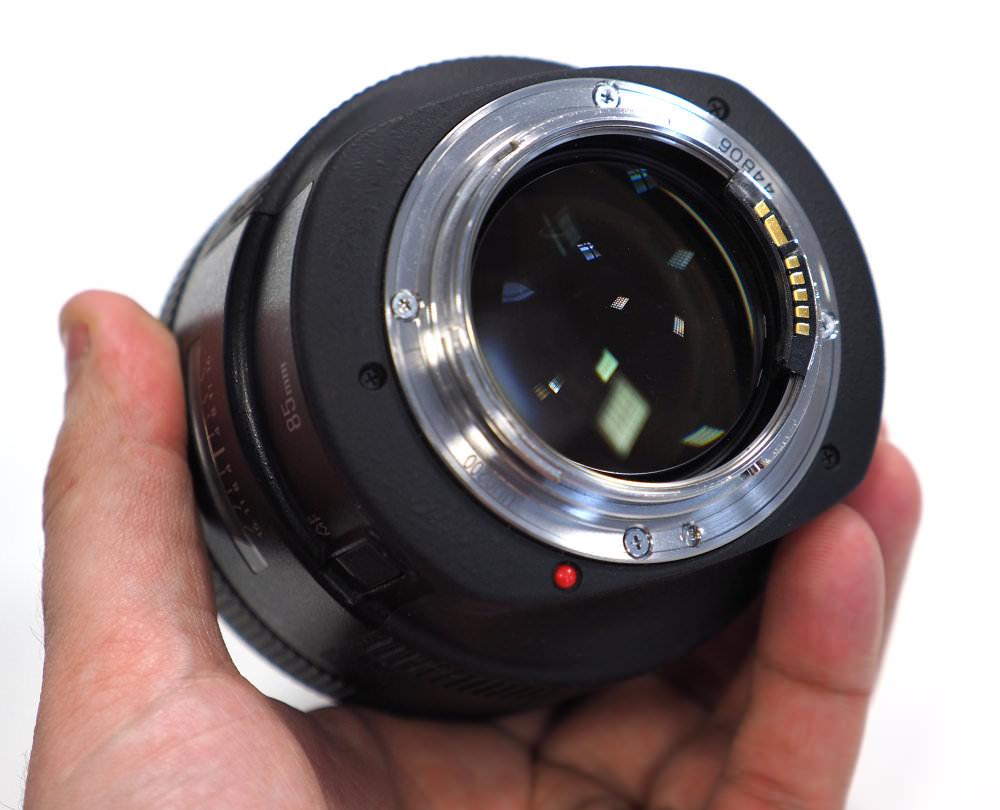 Canon EF 85mm F1 2L II USM (1)