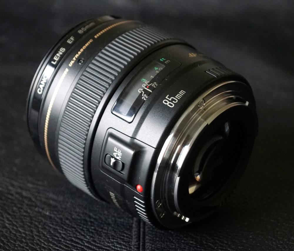 Canon EF 85mm F1 8 Lens (2)